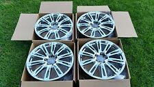 "20"" AUDI A7 A8 A6 A5 S5  FACTORY OEM ORIGINAL WHEELS RIMS CHROME FINISH"