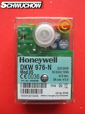 1Impianto combustione automatico Honeywell Satronic DKW 976-N Mod.05