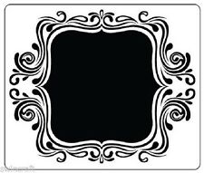 Crafts Too 12.7cm x 15cm Embossing Folder FANCY FRAME CTFD4021