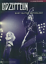 "LED ZEPPELIN ""EASY GUITAR ANTHOLOGY"" TAB EDITION MUSIC BOOK W/VOCALS BRAND NEW!!"