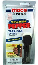 Mace DELUXE Triple Pepper Spray Self Defense PROTECTION 18G CV SEE RESTRICTIONS