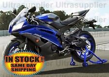 Matte Black w/ Blue Fairing Bodywork Injection for 2006-2007 Yamaha Yzf R6 R600