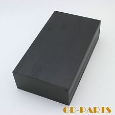 245x145x70mm Full Aluminum Chassis Enclosure Case for HIFI Audio AMP DIY Blackx1