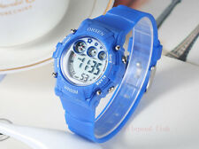 OHSEN Funny Light School Sport Digital AL Blue Boys Child Quartz Watch Watches