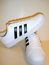 ADIDAS NEO BASELINE WHITE/BLACK MEN ATHLETIC SNEAKERS AW5410 SIZE US 8.5