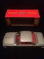 Mini Gama 946 BMW 2000CS Coupe made in West Germany 1/43 rare vintage model