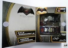 Dale Jr & Jimmie Johnson 2016 Batman Vs Superman 1:64 2-Car Pack ARC -