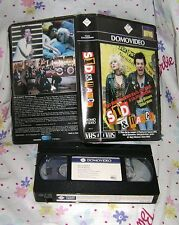 SID & NANCY Sex Pistols 1986 Domovideo movie VHS italy Alex Cox, Gary Oldman