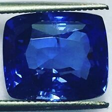 Natural Blue Sapphire 8.60 Carats Cushion Big Loose Gemstone