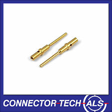 25X Deutsch DTM No.20 Gold Male Contacts from Connector-Tech #0460-202-2031-25