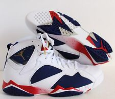 NIKE AIR JORDAN 7 RETRO 2016 OLYMPIC ALTERNATE BASKETBALL SZ 15 [304775-123]