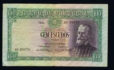 Portugal Portuguese  100  Escudos  1947 PEDRO NUNES P159 FINE  KEY DATE ZD09075