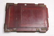 """Half Plate Holder for 4 3/4 x 6 1/2"""" Glass - OD Slotted 6.25x8"""" 5/8"""" USED LF254"""