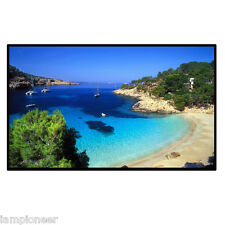 """Portable 72"""" inch 16:9 Fixed TV Projection Projector Screen Material Home Movie"""