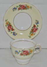 Outstanding Vintage Circa 1945-48 Colclough Fine Bone China Tea Cup and Saucer