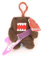 "DOMO GUITAR HERO 4"" PLUSH WITH CLIP KEY-CHAIN BRAND NEW"