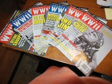 America in World War II Magazine Entire Year 2012 Great Condition Six Issues