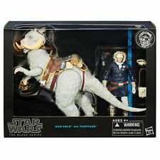 """STAR WARS TAUNTAUN AND HAN SOLO 6"""" BLACK SERIES DELUXE"""