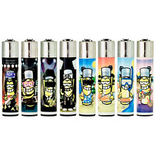 8 Different Clipper Lighters Flint Large - Clipperman Music & Clipperman Summer