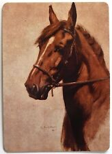 SWAP CARD. GINGER HORSE from 'BLACK BEAUTY'. ARTIST LUCY KEMP WELCH. WIDE. MINT