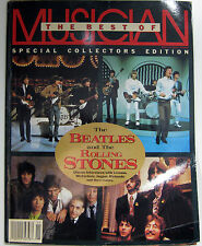 Musician Magazine Special Best of The Beatles and Rolling Stones