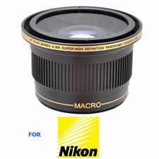 HD SPORTS ACTION EXTREME FISHEYE LENS FOR NIKON D5000 D5100 D5200 D5300 D5500