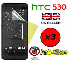 3x HQ MATTE ANTI GLARE SCREEN PROTECTOR COVER FILMS GUARD FOR HTC DESIRE 530