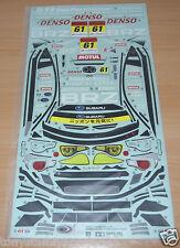 Tamiya 58543 Subaru BRZ R&D Sport/TT01E/TA06, 9495755/19495755 Decals/Stickers