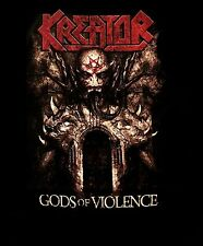 KREATOR cd cvr GODS OF VIOLENCE Official SHIRT Size XL new