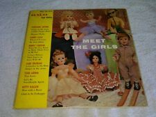 Meet The Girls LP Halo Cool Cover Fontaine Sisters Kitty Kallen Toni Arden