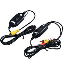 Wireless Transmitter Receiver For Car Reverse Rear View Camera Monitor Popular