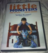 Little Monsters R1 DVD OOP FRED SAVAGE HOWIE MANDEL 1989/2010 CULT RARE COMEDY