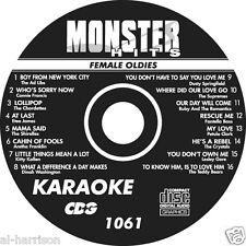KARAOKE MONSTER HITS CD+G FEMALE OLDIES #1061