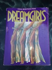 VOCAL SELECTIONS Show Sheet Music Book Dreamgirls 1982