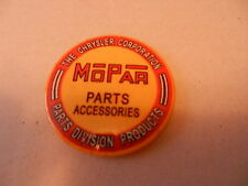 "CHRYSLER CORP. MOPAR PARTS ACCESSORIES, ROUND 2.25"" POCKET MIRROR, NEW VGT"