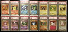 Complete PSA 10 Pokemon CP6 Japanese 20th Anniversary 14 Card Holo Set Charizard