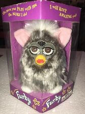 FURBY Model 70-800 1998 Grey w Pink Ears Toes Tiger Electronics 1st gen *NEW*