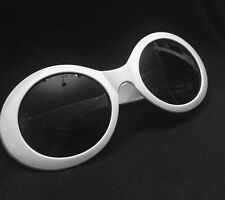 SHIPS FROM US!! - Kurt Cobain Sunglasses - Nirvana Front Man Glasses White MOD 3