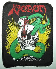 VENOM Original Vintage 1980`s Printed Sew On Patch