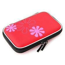 "Hard Disk Drive Pouch case for 2.5"" HDD Cover WD Seagate Slim Sony Dell -Red"