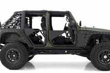 Smittybilt SRC Complete Set Of 4 Trail Doors 2007-2016 4-Door Jeep Wrangler JK