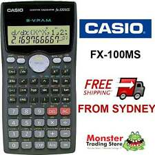 AUSTRALIAN SELLER CASIO SCIENTIFIC CALCULATOR FX-100 FX100 FX100MS WARRANTY