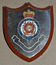 HMY Britannia desk plaque shield ships crest HMS Royal Navy RN naval