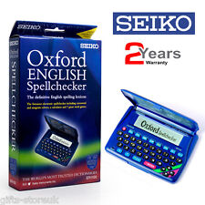Seiko ER1100 Oxford English SpellChecker Crossword Solver Calculator Games New