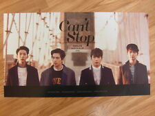 CNBLUE - CAN'T STOP [ORIGINAL POSTER] K-POP *NEW*