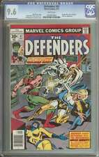 DEFENDERS #47 CGC 9.6 WHITE PAGES