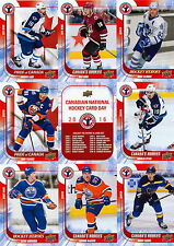 2016 Canadian Hockey Card Day Uncut Sheet McDavid, Domi, Petan, Tavares