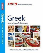 Greek Phrase Book and Dictionary (2012, Paperback)