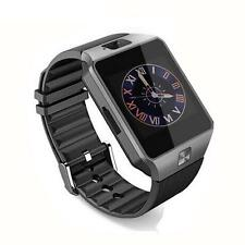 Bluetooth Smart Watch Phone Mate GSM SIM For Android iPhone Samsung Black Charm
