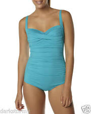 "BNWT BILLABONG LADIES STUNNING""SURFSIDE""ONE PIECE SWIMSUIT(PEACOCK) 10 RRP$120"